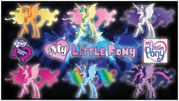 MLP HEARTS Mane 6 Transform Into Nightmare by MLPEGPAGE