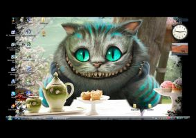 The Cheshire cat by Arianna-chan
