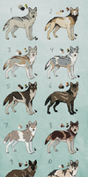 Wolves (CLOSED) by Pred-Adopts