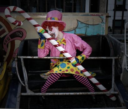 Haha said the clown 2 by Red-Draken