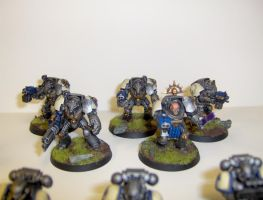 Finished Relictors Termies by cbomb13
