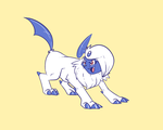 Absol female by shinkuma