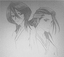 Hisana and Byakuya Kuchiki by Peachblossom18