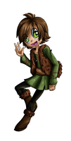 Chibi Hiccup by Sofua