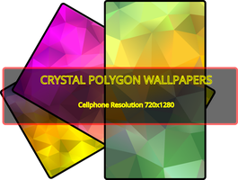 Crystal Polygon Wallpaper Pack by archaeobibliologist