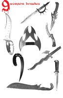Weapon Brushes by mandykat