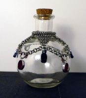 Wrapped Potion Bottle by chainmaille