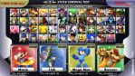 My Smash Bros Roster by memetronic