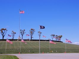 POW MIA Flag Stars and Stripes by Partywave