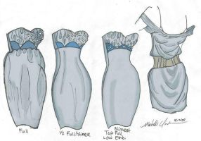 Variations of a dress UPDATE by mzclark