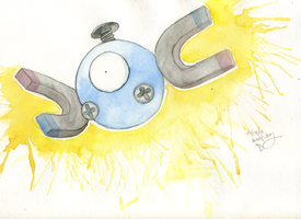 Magnemite by sweetieamy