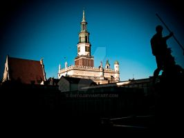 POZnan Old Square by ghito