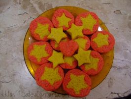 Steven Universe butter cookies by kklps113