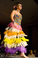 Condom Dress Competition by felloweskimo