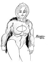 Power Girl by fmvra1s