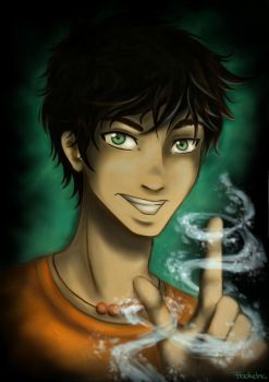 Percy Jackson - The Sea Prince by FlockeInc