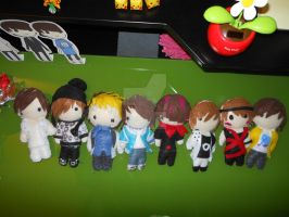 Kpop Plush Babies 2 by ShineeWorld58