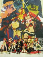 My Gurren Lagann Collection by Scr3wjob