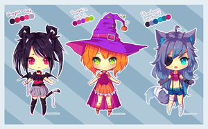 [Closed] Halloween Adopts by Hyanna-Natsu