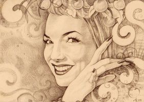 ..Carmen Miranda.. by ChristinaMandy