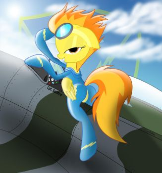 Spitfire.... Wants you to fly with her (W/O words) by Spitshy