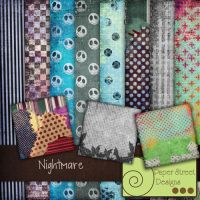Nightmare-paper street designs by paperstreetdesigns