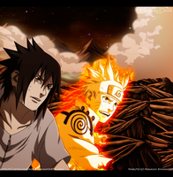 Naruto 641 Smile With Friend by IITheYahikoDarkII