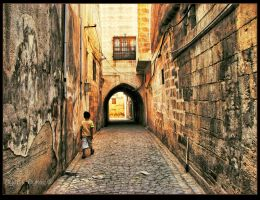 Sanliurfa's Streets by WhiteWay