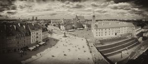 Warsaw - Castle Square II by EagleEye666666