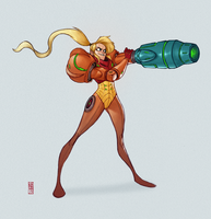 Samus by CamaraSketch