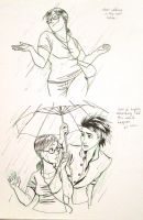 Dancing in the Rain by iesnoth