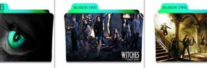Witches of East End Folder Icons by nellanel
