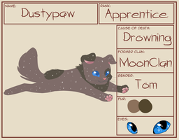 Dustypaw by insanityNothing