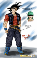 Gokus new outfit in DB SF by BK-81