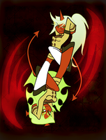 Scanty and Kneesocks by Pride-kun