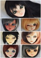 September Faceup Mosaic by Eludys