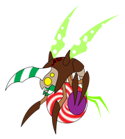 Heartless Candy Cy-Bug :Jawbreaker Beetle: by Xelku9