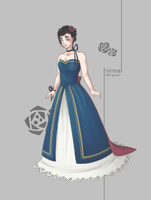 Event Outfit: Formal - Gown by Arriscas