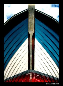 Boat Close Up by christopherhibbert