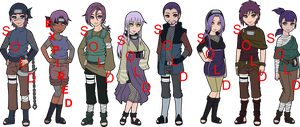 Purple Haired Naruto OC Adoptables - CLOSED by mistressmaxwell