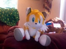 tails plushie by HeidiTheCat by TailsFanclub