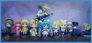 my vocaloid collection by AnGiEdArKdEm0n