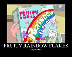 Fruity Rainbow Flakes by DoodleQueen78