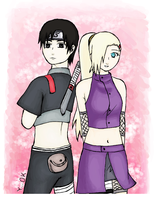 Sai and Ino by relievez-z