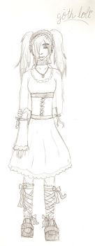 gothic lolita by Lady-Isis