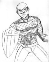 Patriot Sketch by LucianoVecchio