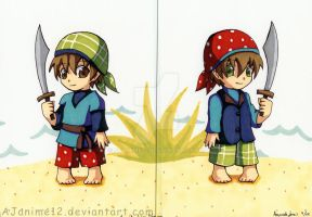 Baby Pirates by AJanime12