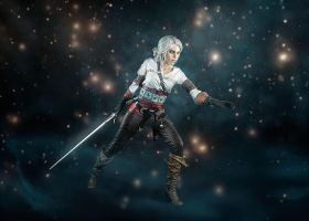 Ciri - The witcher 3 by TophWei