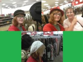 Funny Hats at Target. by Wun23