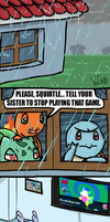 Water Pokemon and Dancing Games by VicGurg